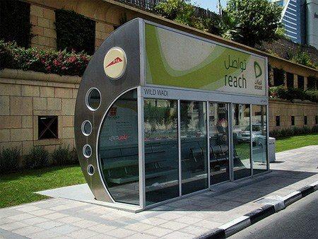 Dubai Bus Stop